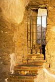 Interior Staircase, Tumacacori Mission, Mission San José de Tumacácori, Spanish Franciscan Mission, Tumacacori National Historical Park, Arizona