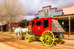 Stagecoach and Horse Team, Tombstone, Arizona