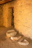 Metate, Mealing Stone, Besh-Ba-Gowah Archaeological Park, Salado Ancestral Puebloan Ruin, Globe, Arizona