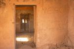 Interior Rooms and Walls, Dos Lomitas Ranch, Rattlesnake Ranch, Blankenship Well, Gray Ranch, Organ Pipe Cactus National Monument, Sonoran Desert, Arizona