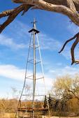 Windmill, Dos Lomitas Ranch, Rattlesnake Ranch, Blankenship Well, Gray Ranch, Organ Pipe Cactus National Monument, Sonoran Desert, Arizona