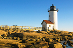 Annisquam Harbor Light, New England Lighthouse, Cape Ann, Wigwam Point, Annisquam, Gloucester, Massachusetts