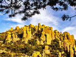 Rock Formations from Ed Riggs Trail, Chiricahua National Monument, Arizona