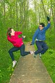 Jumping for Joy, Burton Island State Park, St. Albans, Vermont