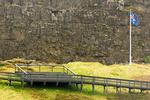 Law Rock, Lögberg, Thingvellir National Park, Golden Circle, Iceland