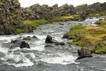 Oxara River, Almannagja Gorge, Thingvellir National Park, Golden Circle, Iceland