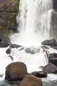 Oxararfoss Waterfall, Almannagja Gorge, Oxara River, Thingvellir National Park, Golden Circle, Iceland