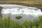 Faxi Waterfall, Tungufljót River, Golden Circle, Iceland