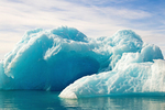 Glacial Iceberg, Jokulsarlon Glacier Lagoon, Vatnajökull National Park, Iceland