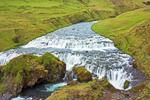Waterfall, Fimmvorduhals Trail, Skoga River, Skogar, Iceland