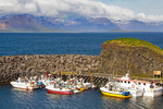 Harbor, Arnarstapi, Snaefellsnes Peninsula, Iceland