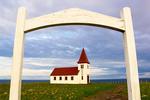 Church in Hellnar, Snaefellsnes Peninsula, Iceland