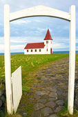 Church in Hellnar, Snaefellsnes Peninsula, Iceland