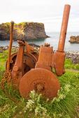 Rusty Machinery, Hellnar, Snaefellsnes Peninsula, Iceland