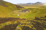 Berudalur Valley Crater, Holaholar Craters, Snaefellsjokull National Park, Snaefellsnes Peninsula, Iceland