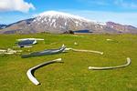Snaefellsjokull Glacier from Malarrif, Snaefellsjokull National Park, Snaefellsnes Peninsula, Iceland