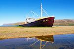 Gardar BA 64 Fishing Boat, Patreksfjordur, Skapadalur Valley, Westfjords, Iceland