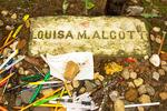 Louisa May Alcott Grave, Sleepy Hollow Cemetery, Concord, Massachusetts