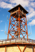 Fire Tower on Wachusett Mountain, Mount Wachusett, Wachusett Mountain State Reservation, Princeton, Westminster, Massachusetts