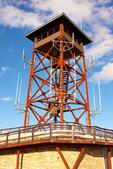 Fire Tower on Wachusett Mountain, Mount Wachusett, Wachusett Mountain State Reservation, Princeton, Westminster, Massachusetts