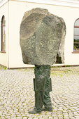 Unknown Bureaucrat Statue, Reykjavik, Iceland