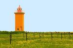 Stafnes Lighthouse, Reykjanes Peninsula, Reykjavik, Iceland