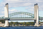 Sarah Mildred Long Bridge and Piscataqua River Bridge, vertical-lift bridge, carries U.S. Route 1 across the Piscataqua River between Portsmouth, New Hampshire and Kittery, Maine