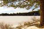 Spooner Lake in Winter, Lake Tahoe-Nevada State Park, Nevada