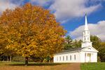 Martha Mary Chapel in Autumn, Sudbury, Massachusetts