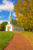 Martha Mary Chapel in Autumn, Sudbury, Massachusetts
