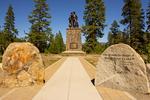 Pioneer Memorial, Donner Memorial State Park, Lake Tahoe, Sierrra Nevada's, California
