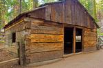 Gamlin Cabin, General Grant Grove, Kings Canyon National Park, California