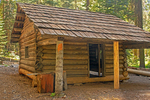 Cattle Cabin, One RoomLog Cabin, Giant Forest, Sequoia National Park, California