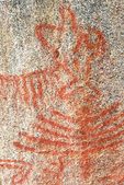 Pictograph of the Western Mono Indians, Hospital Rock, Sequoia National Park, California