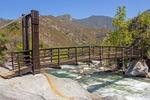 Potwisha Footbridge Over the Middle Fork of the Kaweah River, Sequoia National Park, California