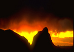 Sunset Storm, Chisos Mountains: The Window