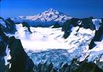 Glacier Peak from across the Dana Glacier