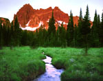 Three Fingered Jack from Canyon Creek Meadow