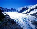 Blue Glacier on Mt. Olympus