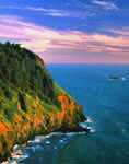 Pacific Ocean at Cape Foulweather