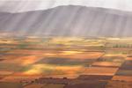 Morning sunbeams flood the Grande Ronde Valley