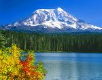 Mt. Adams from Takhlakh Lake