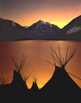 Teepees at Chief Joseph Days
