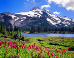 Mt. Jefferson and Russell Lake