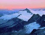 Eldorado Peak and Mt. Baker at sunrise