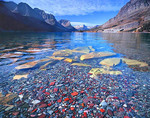 Cobbles in St. Mary Lake in Glacier National Park