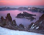 Wizard Island Sunset, Crater lake
