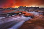 Wind River Sunset