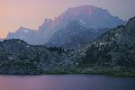 Fremont Peak from Island Lake, Wind River Range
