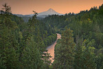 Hood River and Mt. Hood at sunset